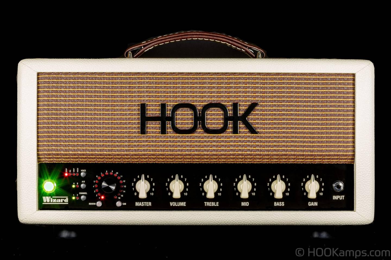HOOK WIZARD GUITAR AMP IVORY